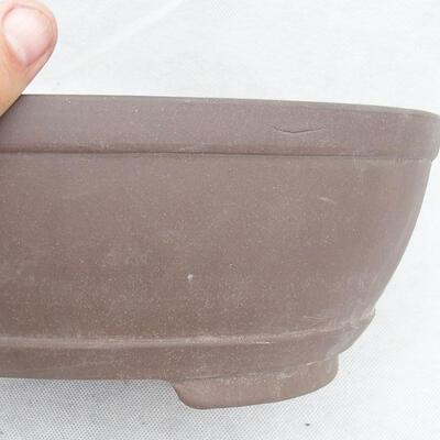 Bonsaischale 31 x 22 x 10 cm, graue Farbe - 2