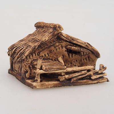 Keramikfigur - Chatrč - 2