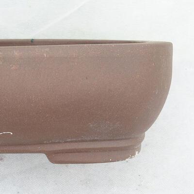 Bonsaischale 31 x 24 x 9,5 cm, graue Farbe - 2