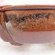 Keramische Bonsai-Schale 12 x 10 x 4,5 cm, Farbe braun - 2/3