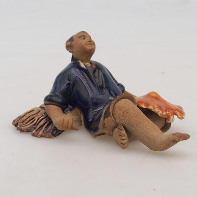 Keramische Figur - Reispicker - 2