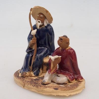 Keramikfigur - zwei weise Männer - 2