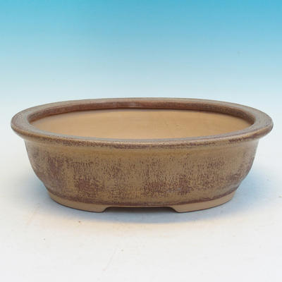 Bonsai Keramikschale CEJ 56, beige - 2