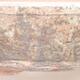 Keramische Bonsai-Schale 20 x 20 x 4 cm, Farbe braun - 2/3