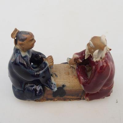 Keramikfigur - zwei Spieler - 2