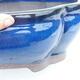 Bonsaischale 41 x 33 x 15 cm, Farbe blau - 2/7