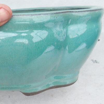Bonsaischale 35 x 27 x 11 cm, Farbe grün - 2
