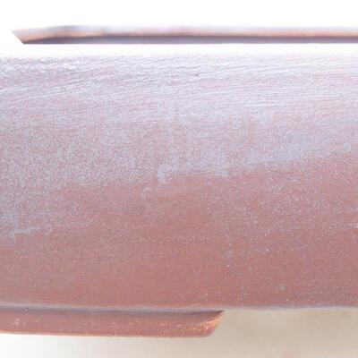Keramische Bonsai-Schale 25 x 19,5 x 6,5 cm, graue Farbe - 2