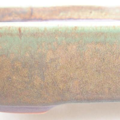 Keramische Bonsai-Schale 23 x 17,5 x 5 cm, Farbe grün - 2