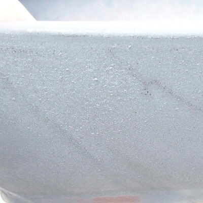 Keramische Bonsai-Schale 21,5 x 16,5 x 6,5 cm, Metallfarbe - 2