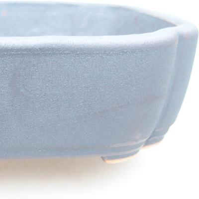 Keramische Bonsai-Schale 15 x 11 x 4 cm, Metallfarbe - 2