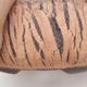 Keramische Bonsai-Schale 21 x 21 x 7 cm, Farbe rissig - 2/4