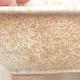 Keramische Bonsai-Schale 13 x 10 x 5 cm, beige Farbe - 2/3