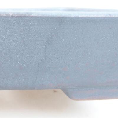 Keramische Bonsai-Schale 17 x 13 x 4,5 cm, Metallfarbe - 2