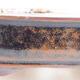 Keramische Bonsai-Schale 15 x 12 x 4 cm, braun-schwarze Farbe - 2/3