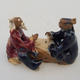 Keramikfigur - Paar Spieler - 2/2