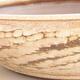 Keramische Bonsai-Schale 36,5 x 36,5 x 9,5 cm, beige Farbe - 2/3