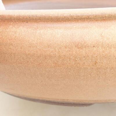 Keramische Bonsai-Schale 34 x 34 x 8,5 cm, braune Farbe - 2