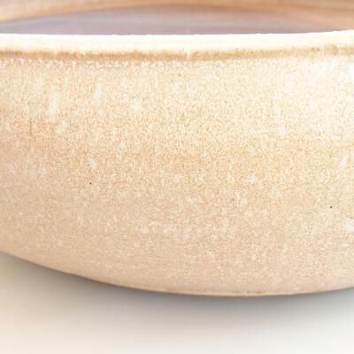 Keramische Bonsai-Schale 39 x 39 x 11 cm, Farbe beige - 2