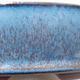 Bonsaischale aus Keramik 14,5 x 14,5 x 4,5 cm, Farbe blau - 2/3