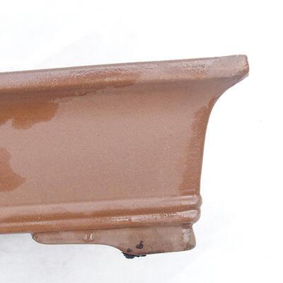 Bonsaischale 49 x 29 x 13 cm, graue Farbe - 2