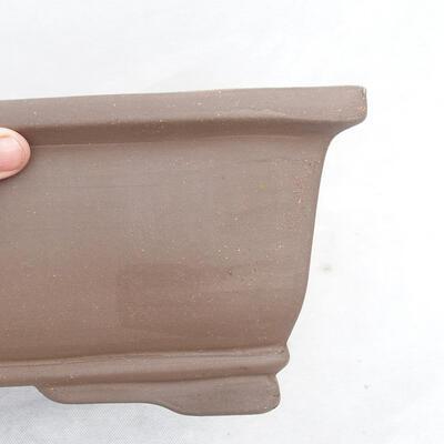 Bonsaischale 46 x 25 x 15 cm, graue Farbe - 2