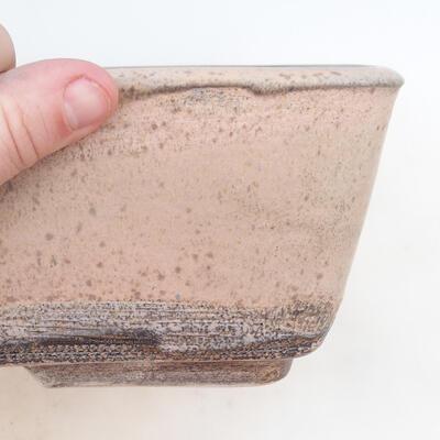 Bonsai-Schale 38 x 27 x 11 cm, grau-beige Farbe - 2