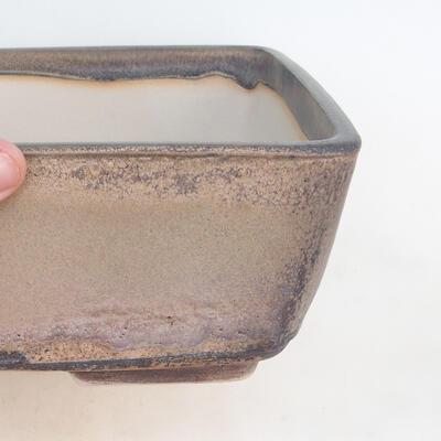 Bonsai-Schale 30 x 23 x 10 cm, grau-beige Farbe - 2