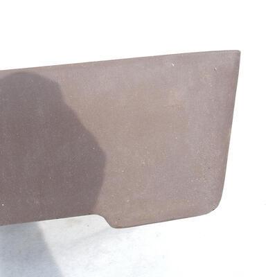 Bonsaischale 41 x 29 x 12 cm, graue Farbe - 2
