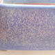 Bonsaischale aus Keramik 20,5 x 17 x 7 cm, Farbe blau - 2/3