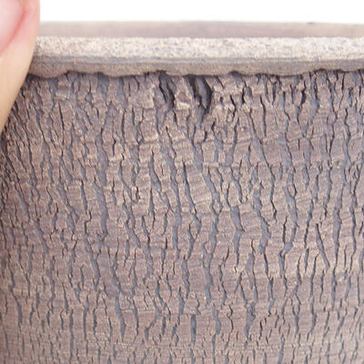 Bonsaischale aus Keramik 16,5 x 16,5 x 16,5 cm, Farbe rissig - 2