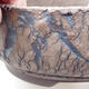 Bonsaischale aus Keramik 18,5 x 18,5 x 7 cm, rissige Farbe - 2/4