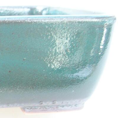 Keramische Bonsai-Schale 15,5 x 10 x 4 cm, Farbe grün - 2