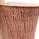 Bonsaischale aus Keramik 12 x 12 x 14 cm, Farbe rissig - 2/3
