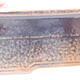 Keramische Bonsai-Schale 20 x 14,5 x 7 cm, Farbe schwarzbraun - 2/3