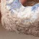 Keramikschale 7,5 x 7 x 4,5 cm, braun-blaue Farbe - 2/3
