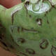Keramikschale 7,5 x 7 x 6 cm, Farbe grün - 2/3