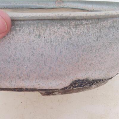Bonsai-Schale 24 x 19 x 7 cm, grau-beige Farbe - 2