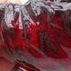 Keramikschale 7 x 7 x 6 cm, Farbe rot - 2/3