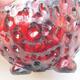 Keramikschale 7 x 7 x 5 cm, Farbe rot - 2/3