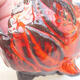 Keramikschale 7 x 7 x 7 cm, Farbe orange - 2/3