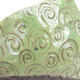 Keramikschale 7 x 7 x 5 cm, Farbe grün - 2/3