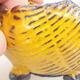 Keramikschale 7 x 7 x 5 cm, Farbe gelb - 2/3