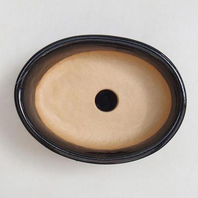 Bonsaischale, Tablett H04 - Schüssel 10 x 7,5 x 3,5 cm, Tablett 10 x 7,5 x 1 cm - 2