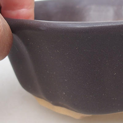 Bonsaischale aus Keramik H 06 - 14,5 x 14,5 x 4,5 cm - 2