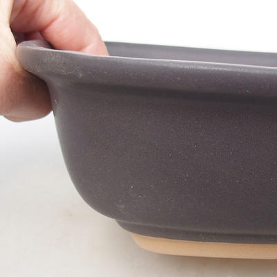 Bonsaischale aus Keramik H 08 - 24,5 x 18 x 7 cm - 2
