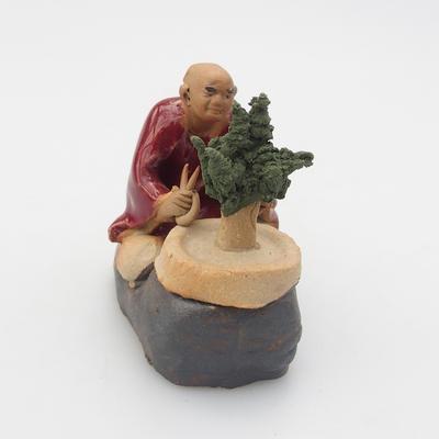 Keramik-Figur - Bonsajista - 2