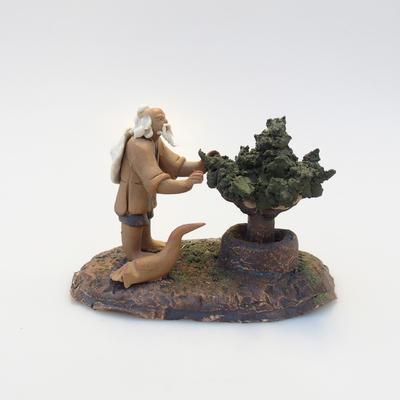 Keramik-Figur - Bonsaijista - 2