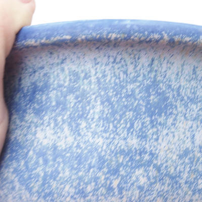 Keramische Bonsai-Schale 23 x 19 x 8 cm, Farbe blau - 2