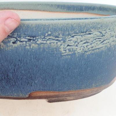 Bonsai-Schale 31 x 24 x 10 cm, Farbe blau - 2